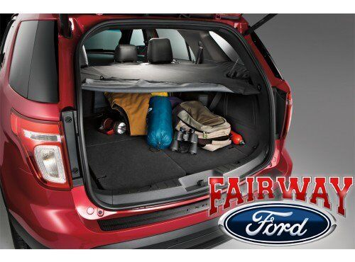 2011 thru 2018 Explorer OEM Genuine Ford Parts Black Cargo ...