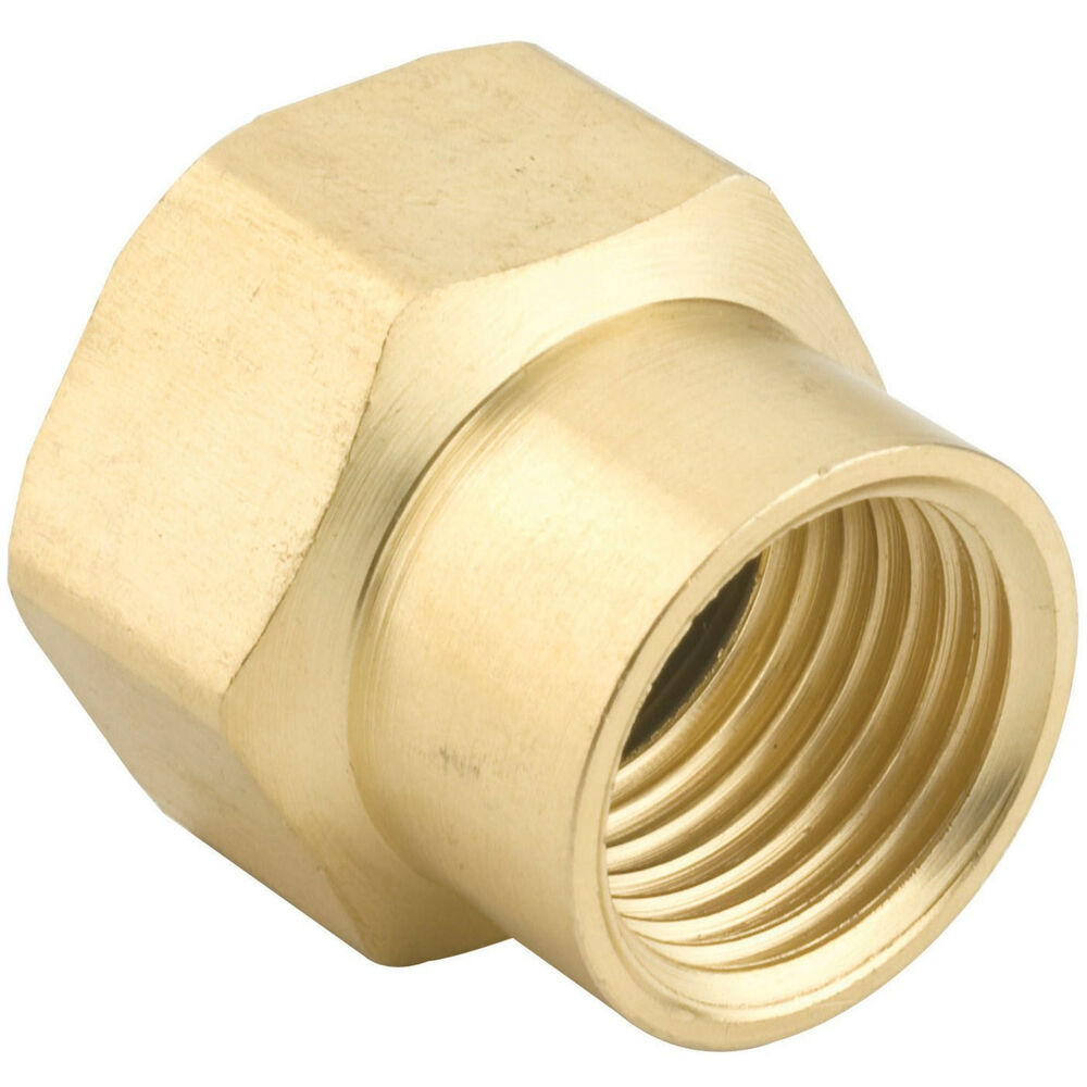 Gilmour fp fh inch brass double female hose connector