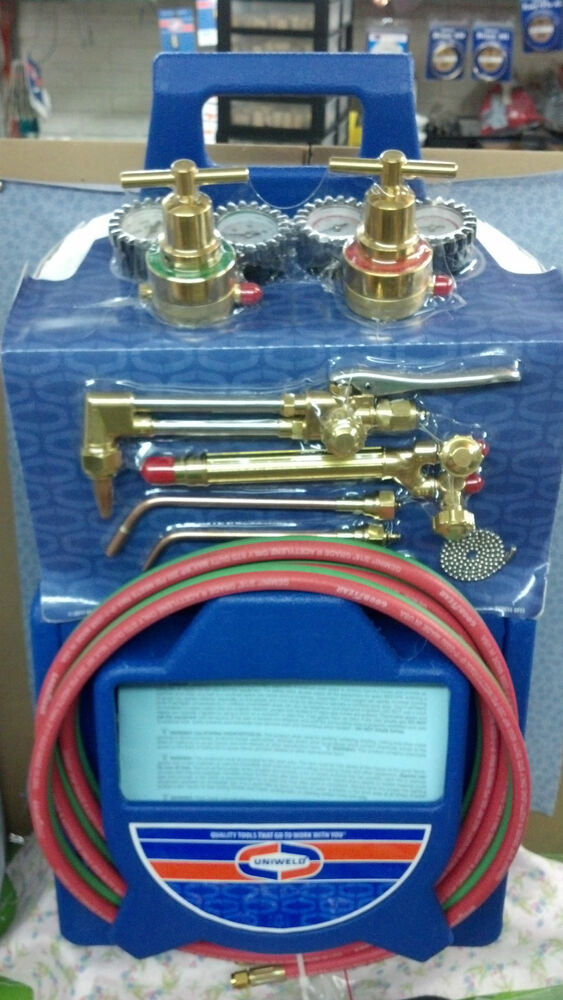 Uniweld Kl550 4p T Master Welding Cutting Brazing Outfit