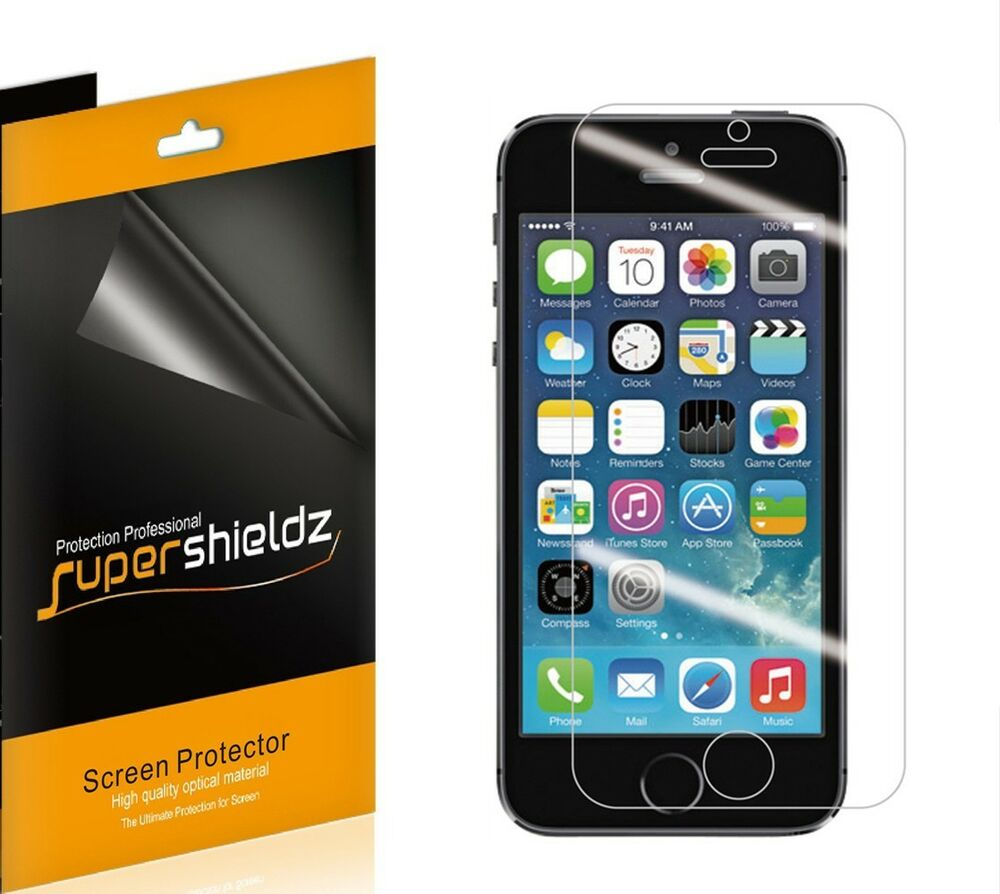 iphone 5 screen protector 3x supershieldz anti glare matte screen protector guard 14585