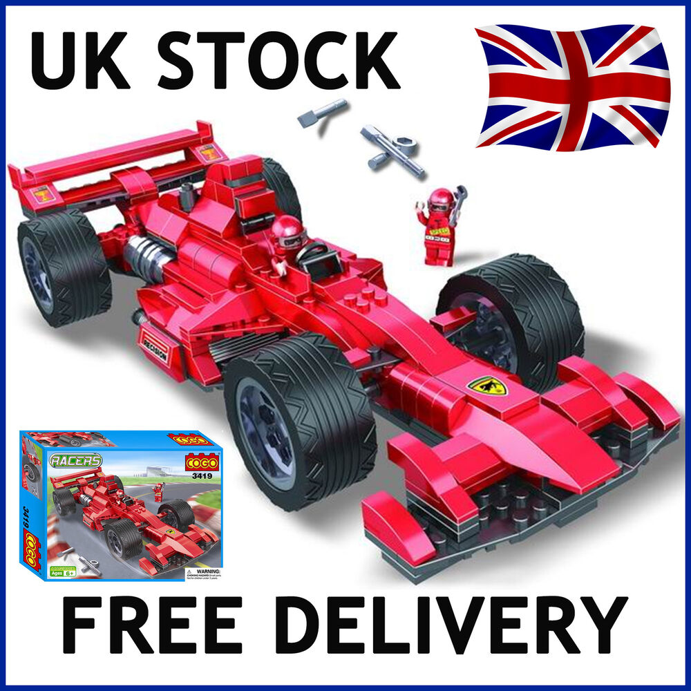 formula 1 f1 technic racing race car building bricks blocks 360 pcs compatible ebay. Black Bedroom Furniture Sets. Home Design Ideas
