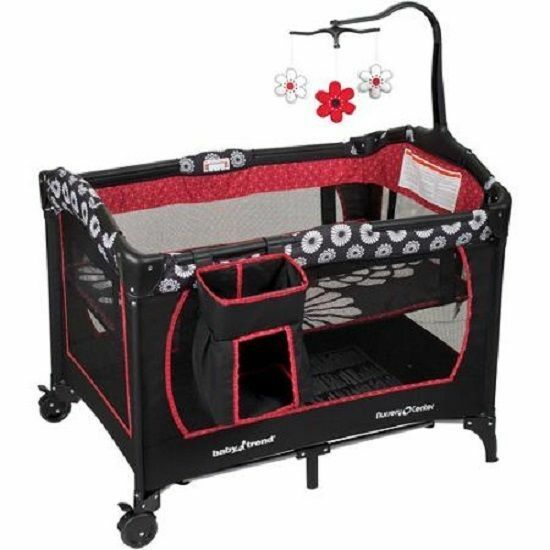 Baby Trend Playard Bassinet Stacker Storage Toys Play Yard