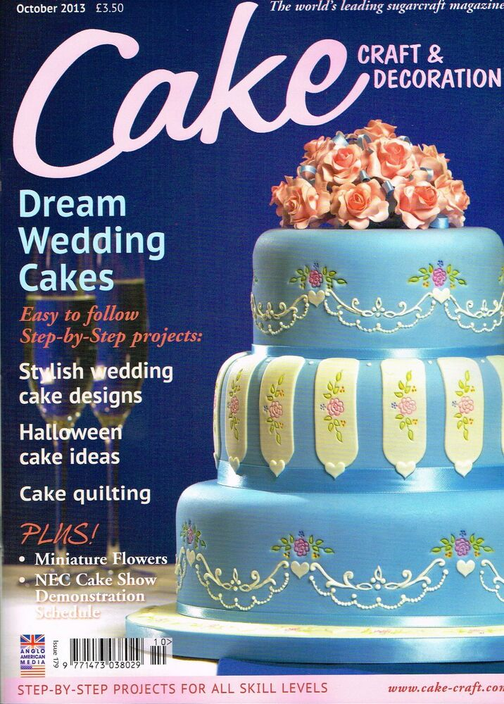 cake craft decoration magazine october 2013 halloween