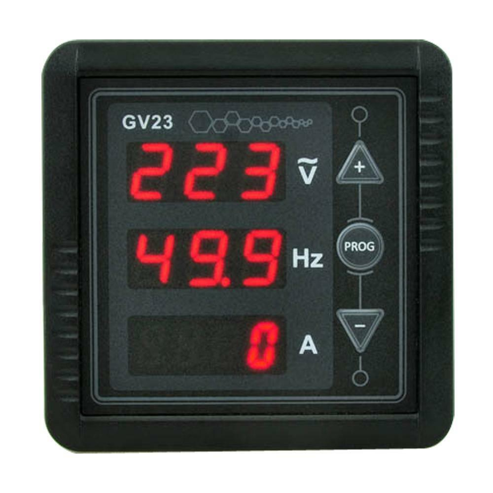 Voltage Frequency Meter : New in digital red led display ac voltage