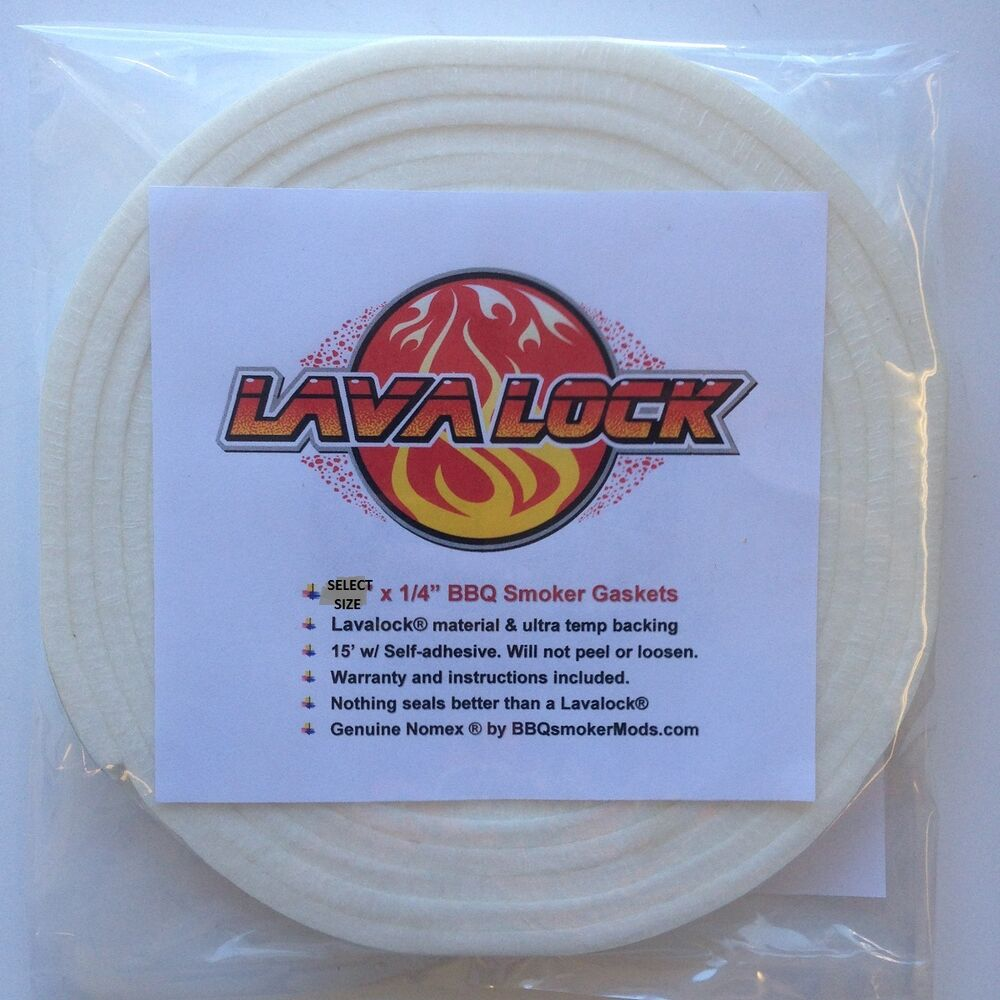 1 4 Quot Thick Nomex High Temp Gasket Self Stick Seal Bbq Pit