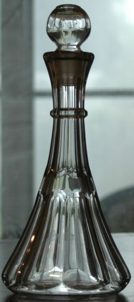 Beautiful vintage cut glass decanter with stopper wine for What is wine decanter