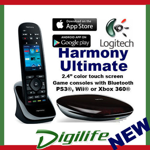 Logitech harmony smart control with smartphone app - Villa mirage