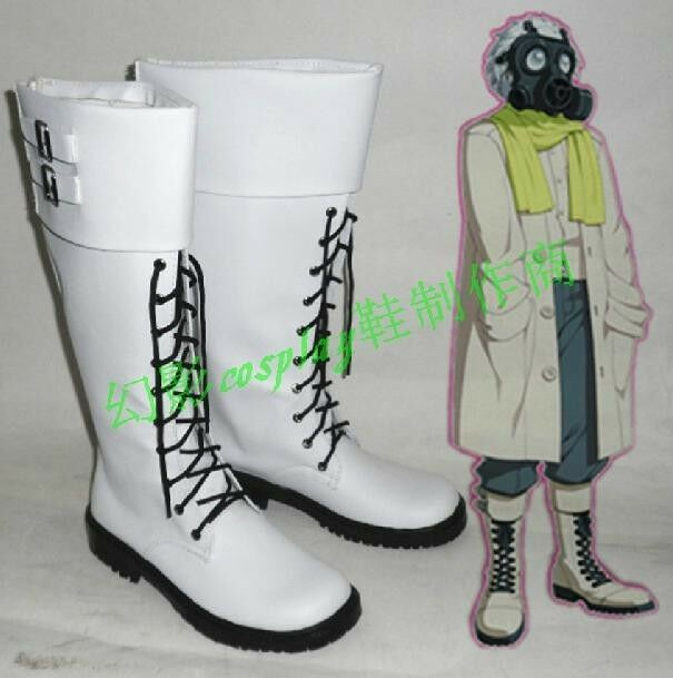 Dramatical Murder Clear cosplay shoes boots Custom-Made | eBay