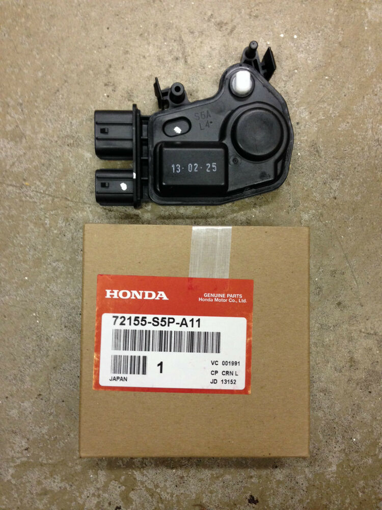 2003 honda accord driver side door lock actuator