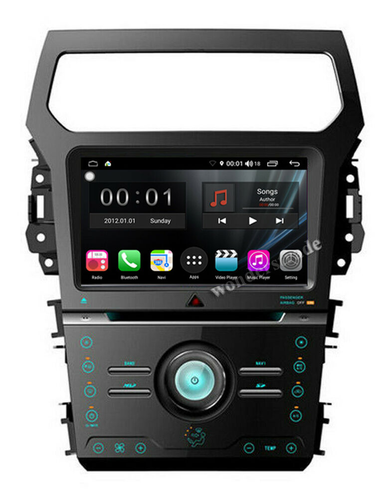 quad core android 4 4 car dvd radio gps stereo for ford. Black Bedroom Furniture Sets. Home Design Ideas