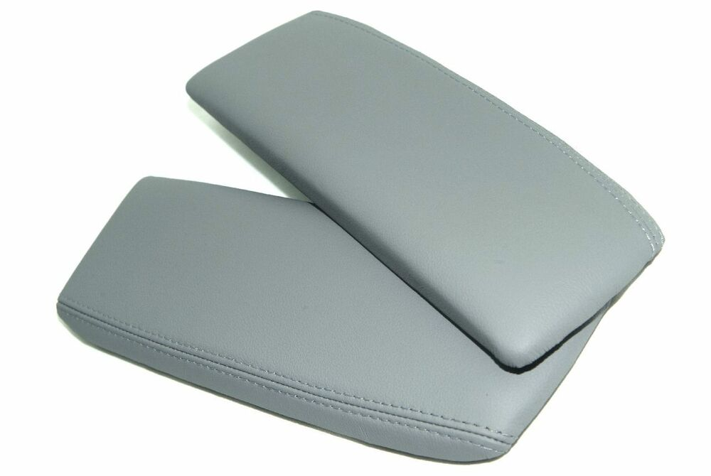 Armrest Center Console Lid Cover Leather Synthethic For