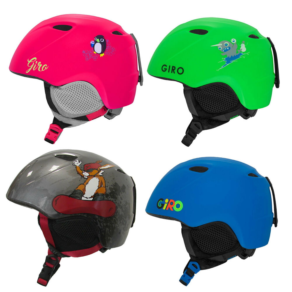 giro s slingshot youth helm kinder snowboard skihelm ebay. Black Bedroom Furniture Sets. Home Design Ideas