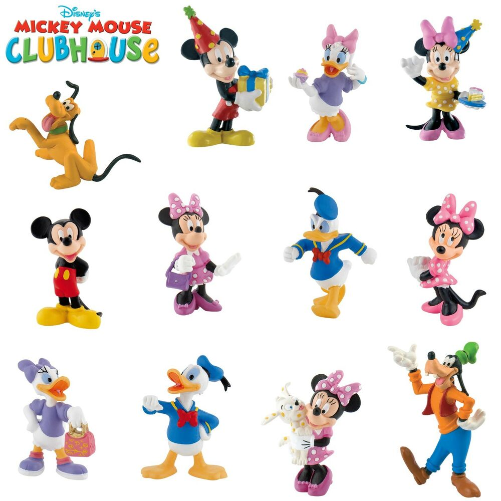 Bullyland Disney Mickey Mouse Clubhouse Figures Choice