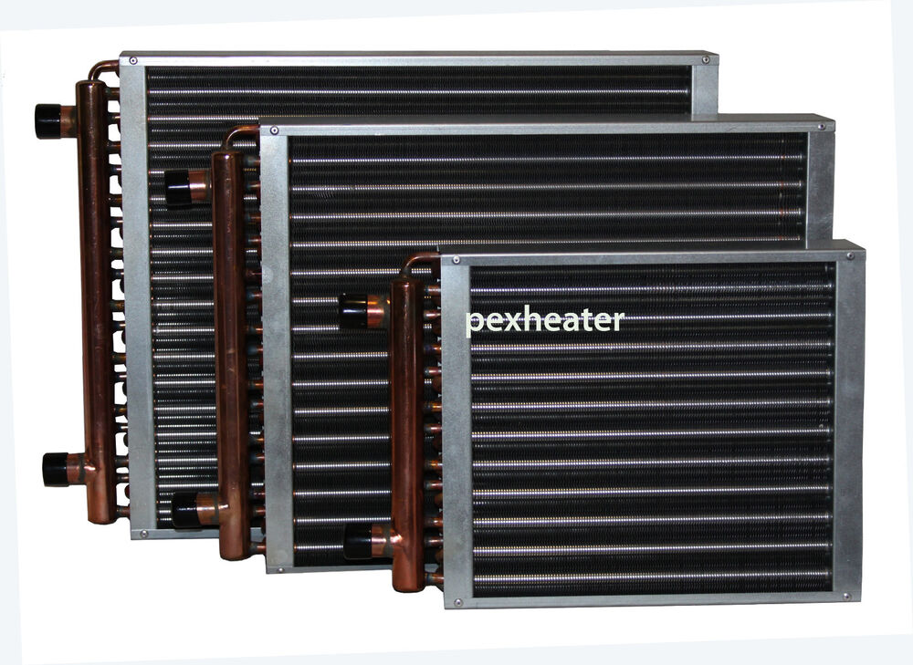 Air Heat Exchanger ~ Finned coil water to air heat exchanger quot sweat