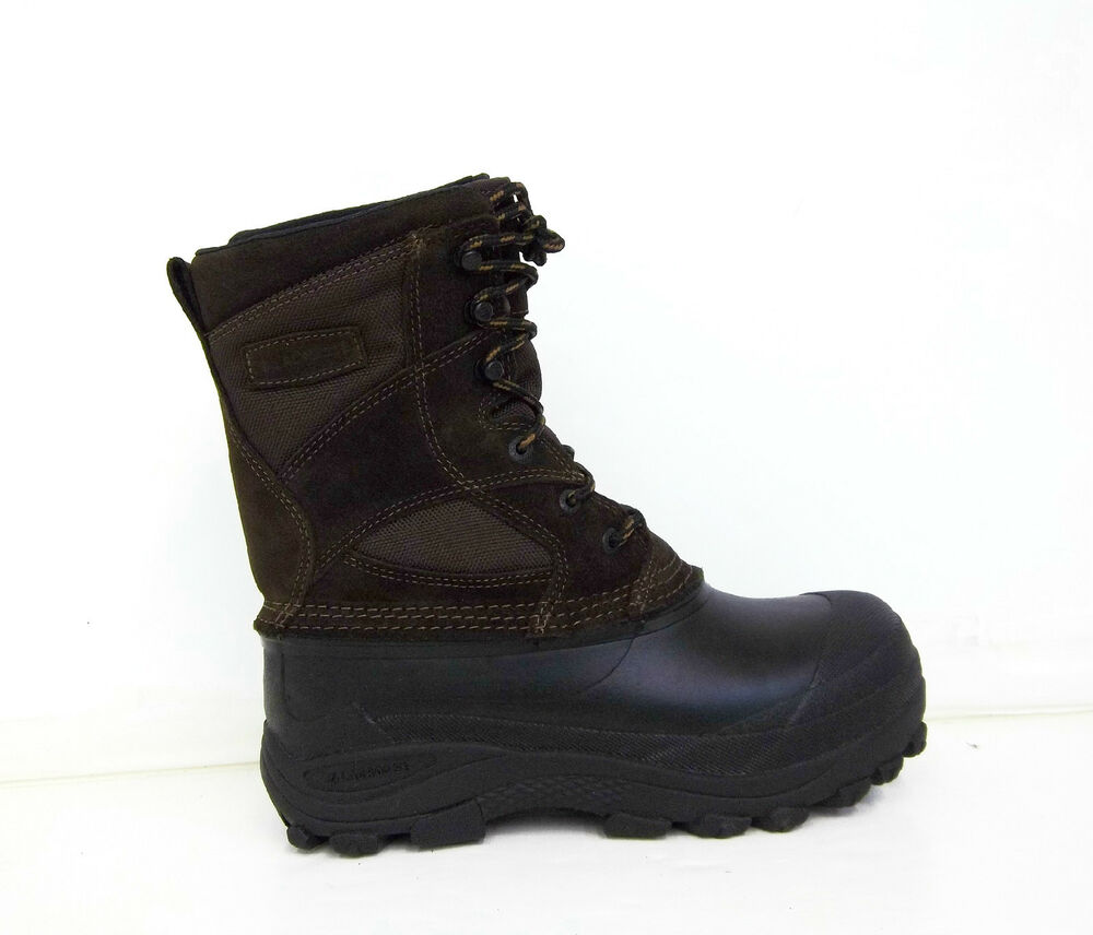 lacrosse womens pine top leather pac boot brown ebay
