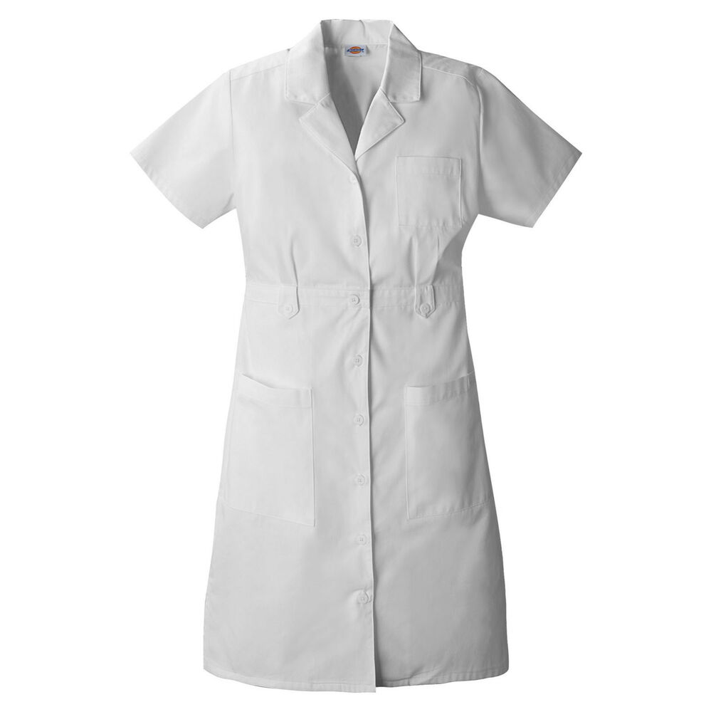 White Nurse Uniform Dress 5
