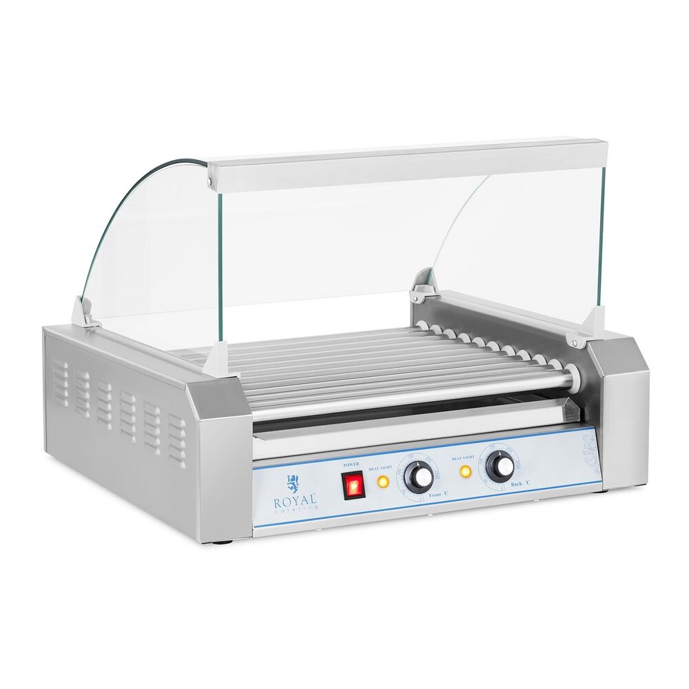 neu profi hot dog w rstchen elektro ger t br ter maker 11 roller grill 2200w ebay. Black Bedroom Furniture Sets. Home Design Ideas