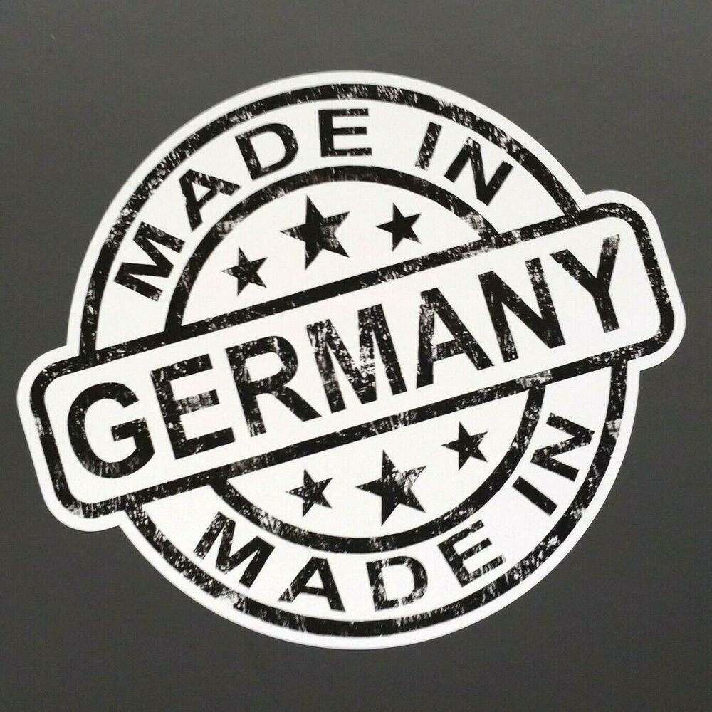 made in germany auto aufkleber barcode shocker sticker. Black Bedroom Furniture Sets. Home Design Ideas