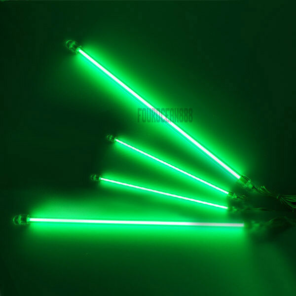 4x12 Quot Green Neon Kit Under Car Underbody Lights Ccfl