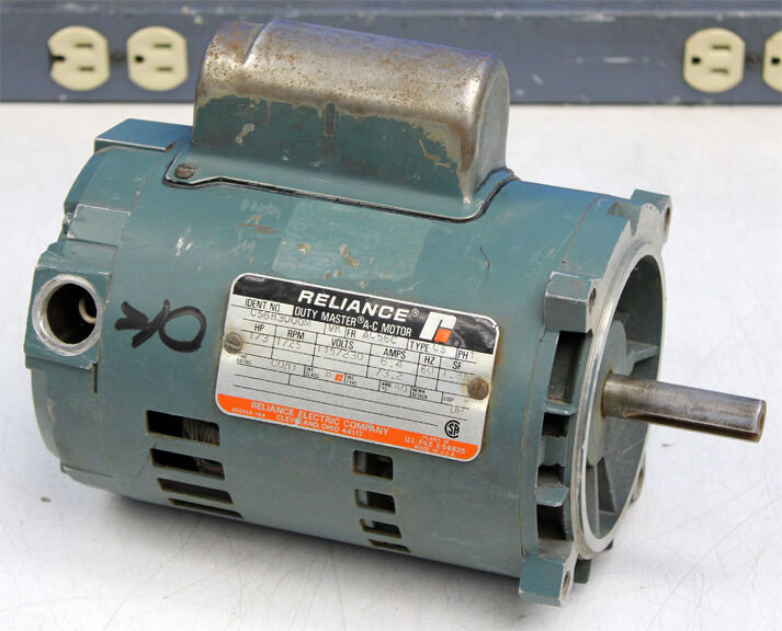 reliance electric c56h3000m duty master ac motor 1725rpm 1