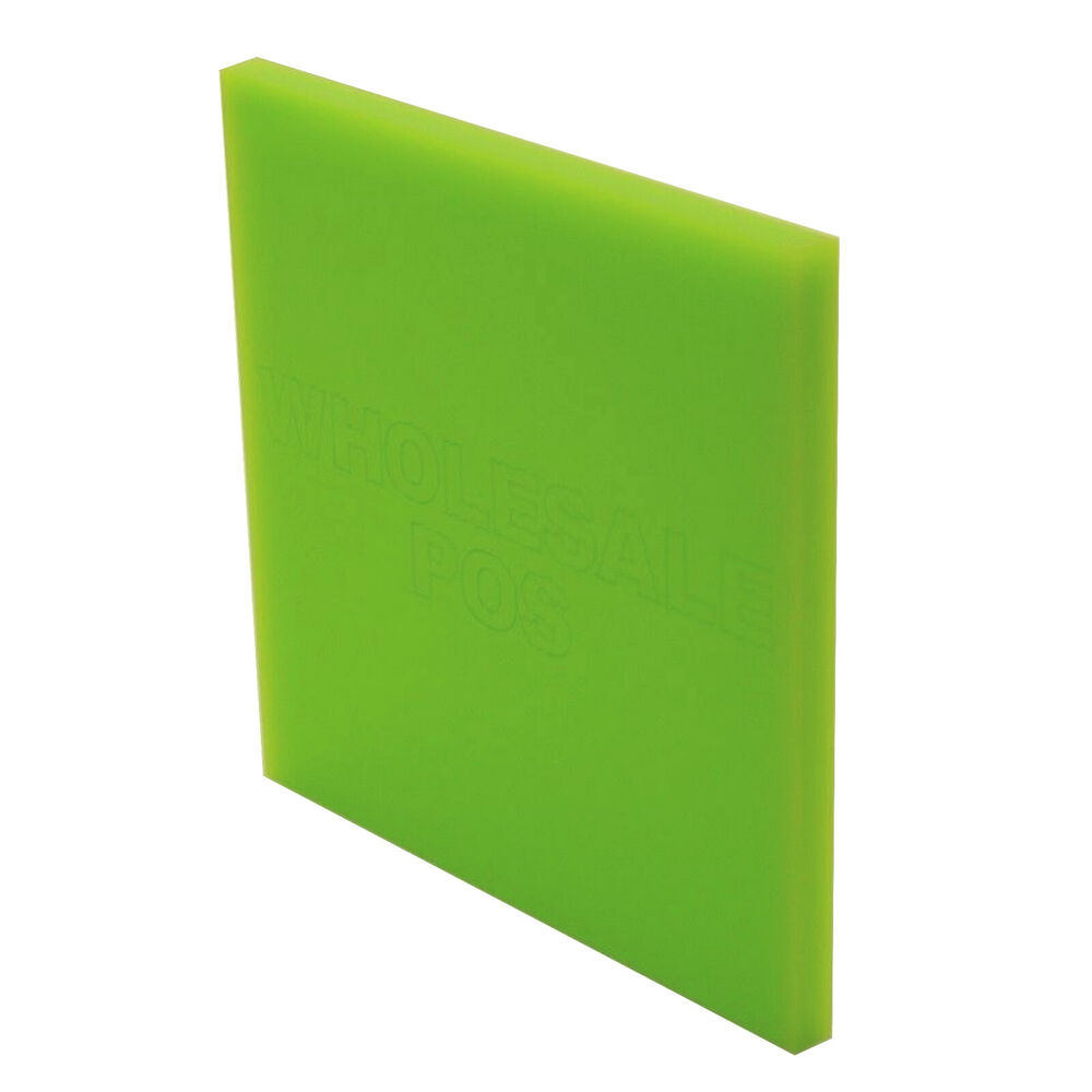 Lime Green Plastic Coloured Perspex 3mm Thick Acrylic