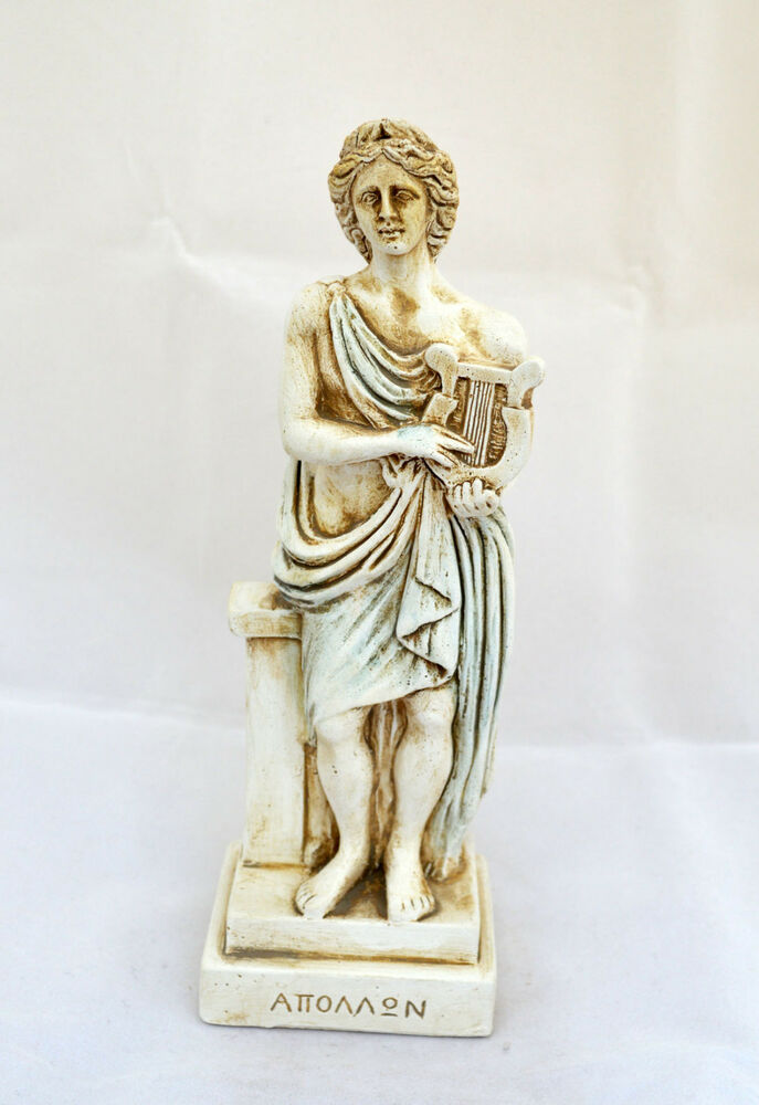 Apollo Ancient Greek God Of Light Sun Music Poetry