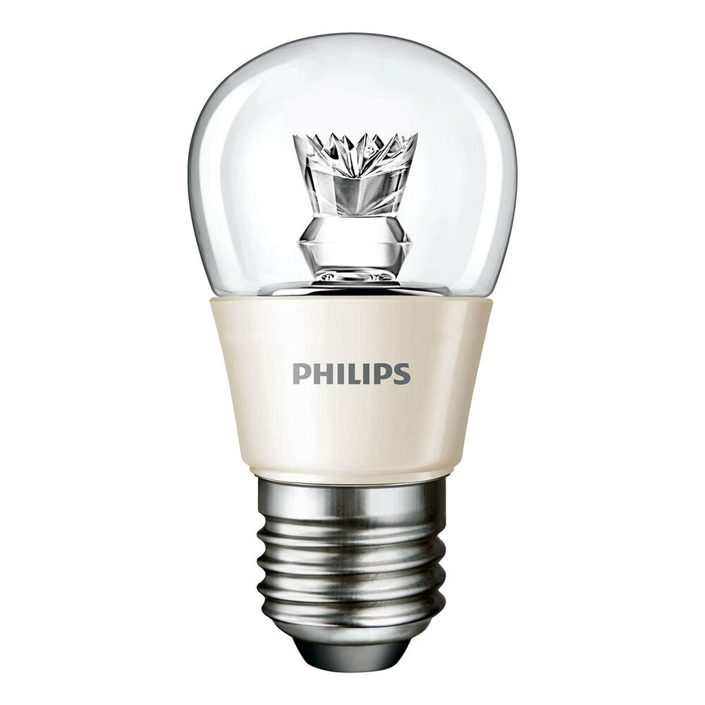 philips led lampe master ledluster 4w e27 827 warmwei extra birne leuchte ebay. Black Bedroom Furniture Sets. Home Design Ideas