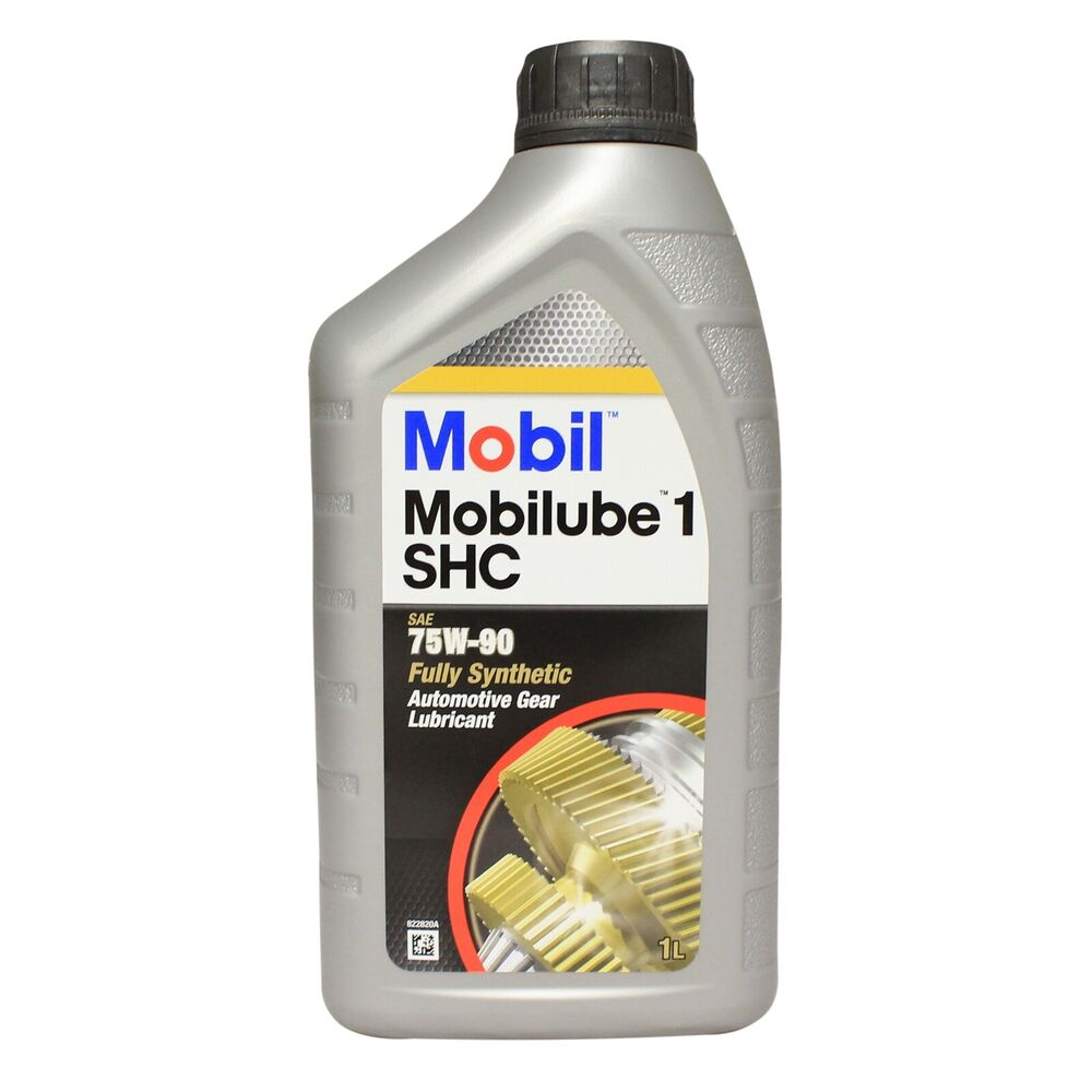 mobil mobilube 1 shc 75w 90 fully synthetic gear oil 75w90 1 litre 1l ebay. Black Bedroom Furniture Sets. Home Design Ideas