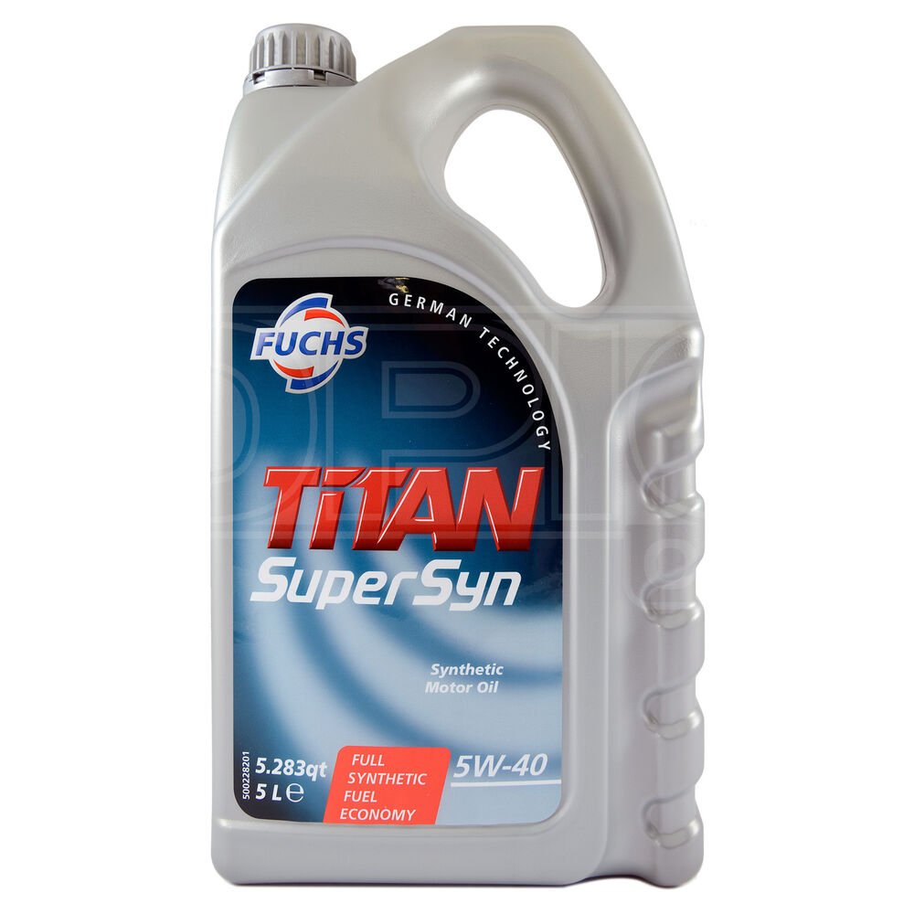 Fuchs Titan Supersyn 5w 40 Fully Synthetic Engine Oil 5w40