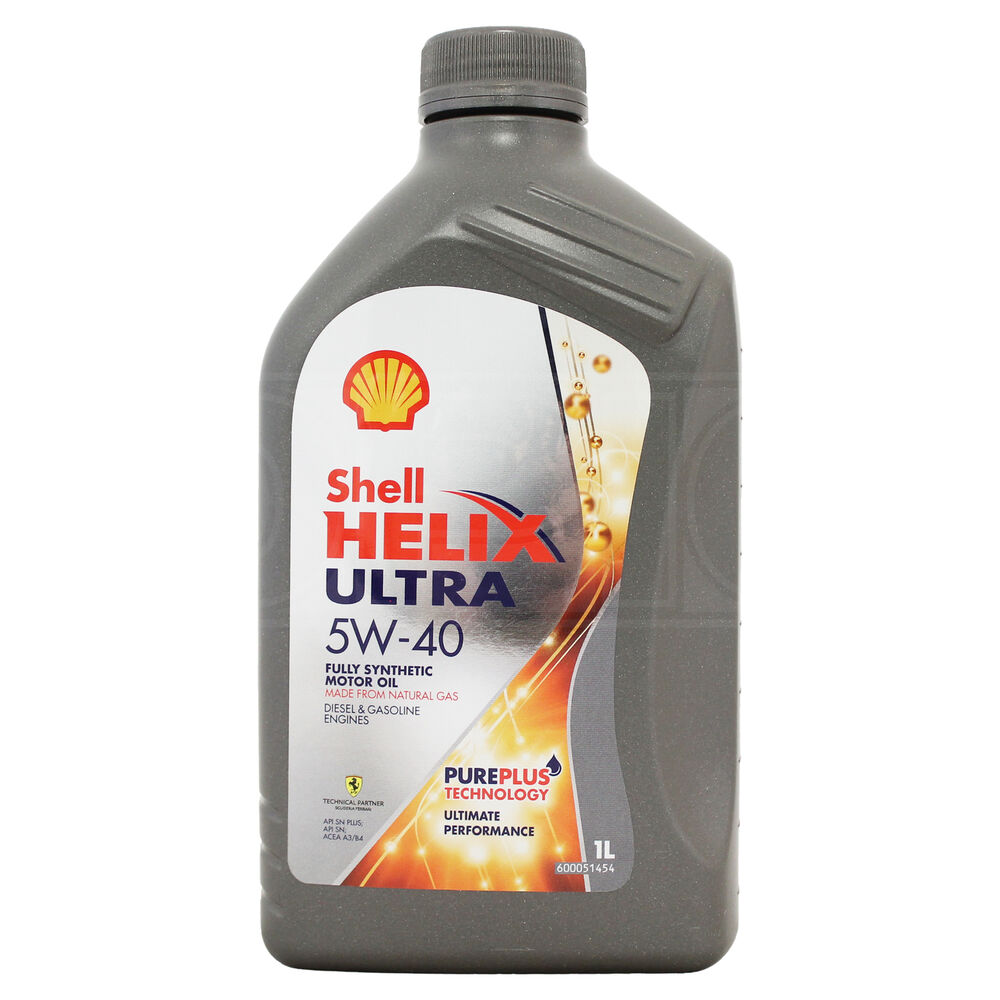 Shell Helix Ultra 5w 40 Fully Synthetic Engine Oil 5w40 1