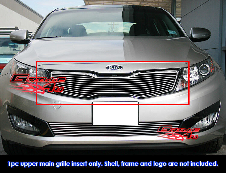 Fits Kia Optima Sx Ex Hybrid Optima Hybrid Billet Grill Insert Fits