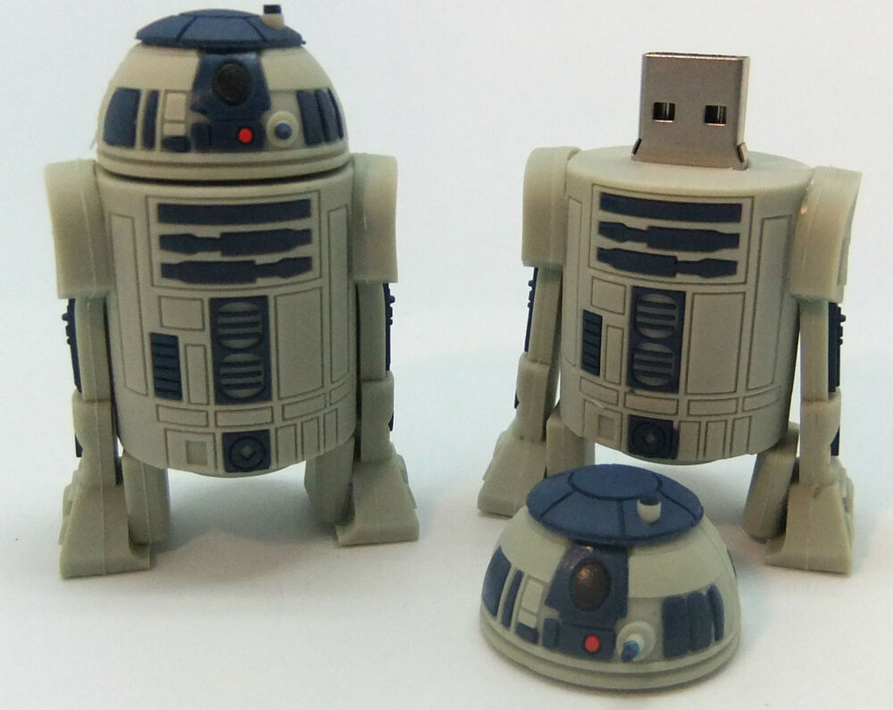star wars r2 d2 8gb usb stick 2 5 brand new great gift. Black Bedroom Furniture Sets. Home Design Ideas