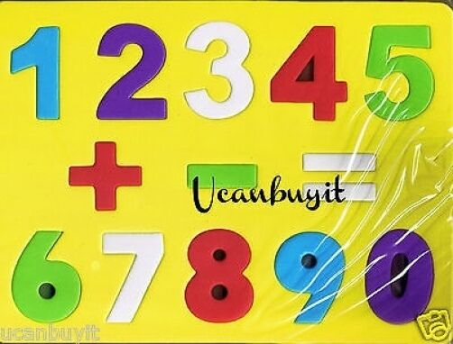 13pc soft safe non toxic foam numbers puzzle w plus for 1 plus 1 equals window