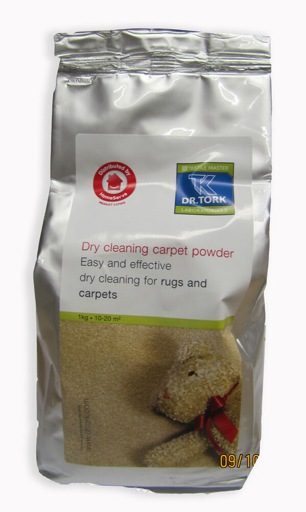 Textile Master Dry Cleaning Carpet Powder 1kg Ebay
