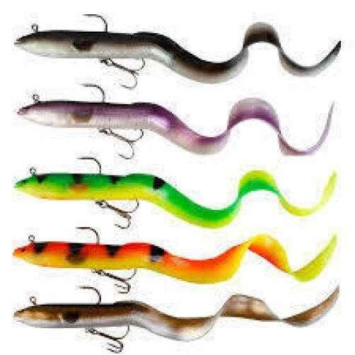 Savage Gear Real Eel ready to fish lures Pike Fishing ...