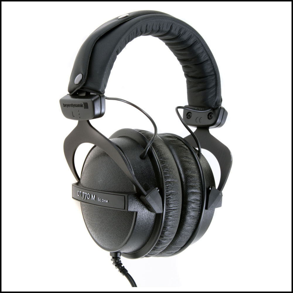 beyerdynamic dt 770 m 80 closed headphones drummers brand new dt770 dt770m 4010118472787 ebay. Black Bedroom Furniture Sets. Home Design Ideas