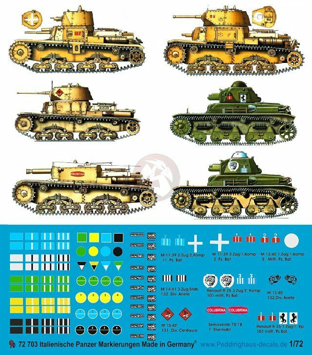 28mm WWII Russian/Polish Armor Marking Decals 2 for small