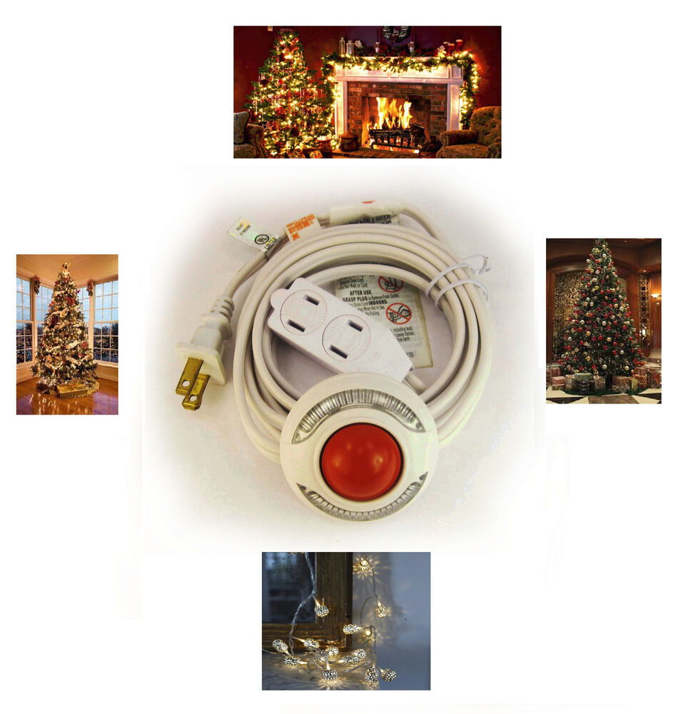 Foot Switch Extension Cord For Christmas Lights Lites