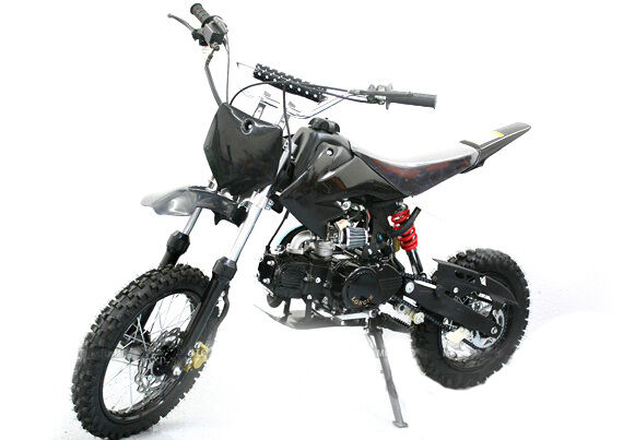 dirtbike 125ccm crossbike enduro motorrad mini cross pitbike motocross pit dirt ebay. Black Bedroom Furniture Sets. Home Design Ideas
