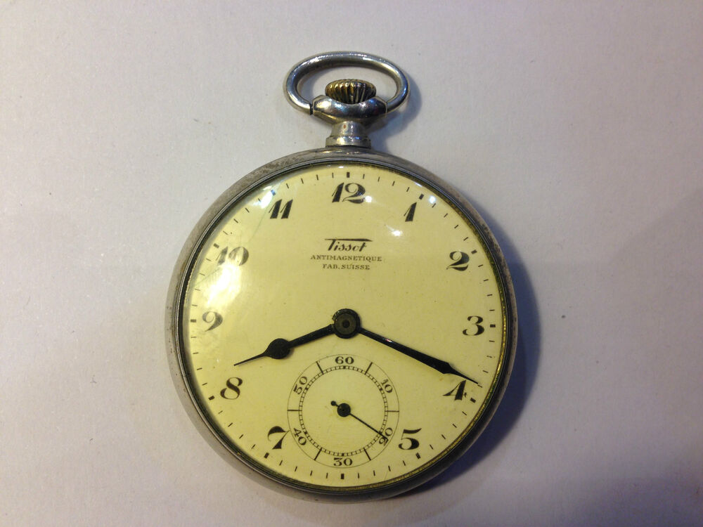 antique antimagnetique swiss pocket tissot royal