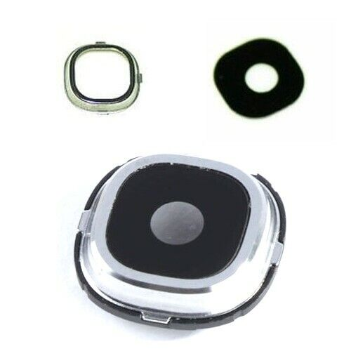 Camera lens cover with frame for samsung galaxy s4 i9500 i9505 replacement part ebay - Reparation telephone lens ...