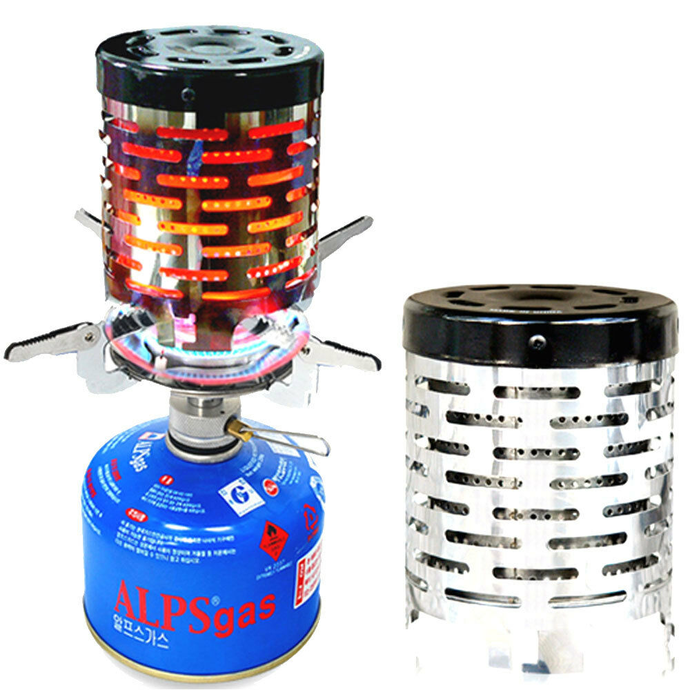Mini Stove: Mini Backpacking Stove Heater For Propane Gas Burner