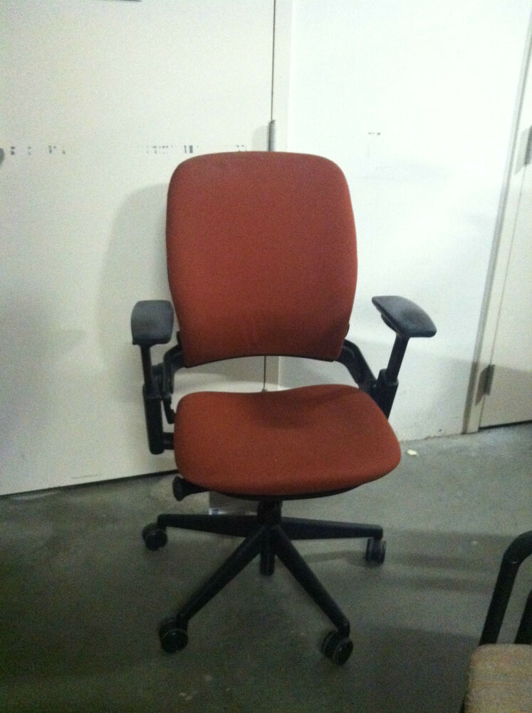 Leap task chair ebay - Steelcase leap ergonomic office chair ...