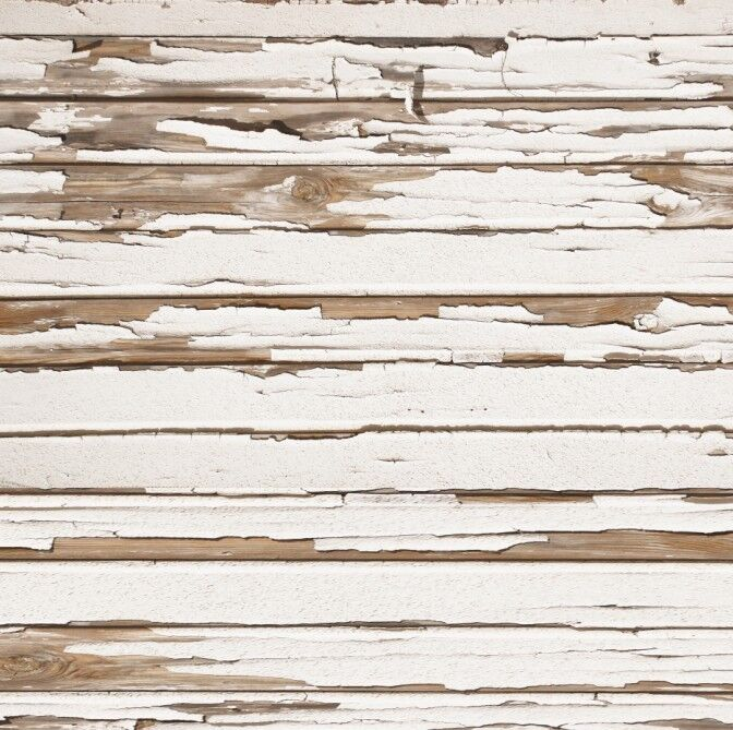 Canvas White Peeled Wood Floor Backdrop Faux 3ft X 4ft