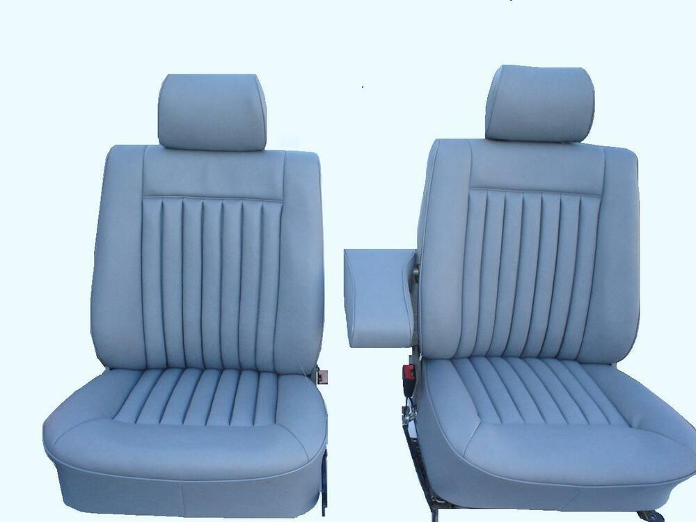 Mercedes benz w126 leather seat covers 280se 300sel 380sel for Seat covers mercedes benz