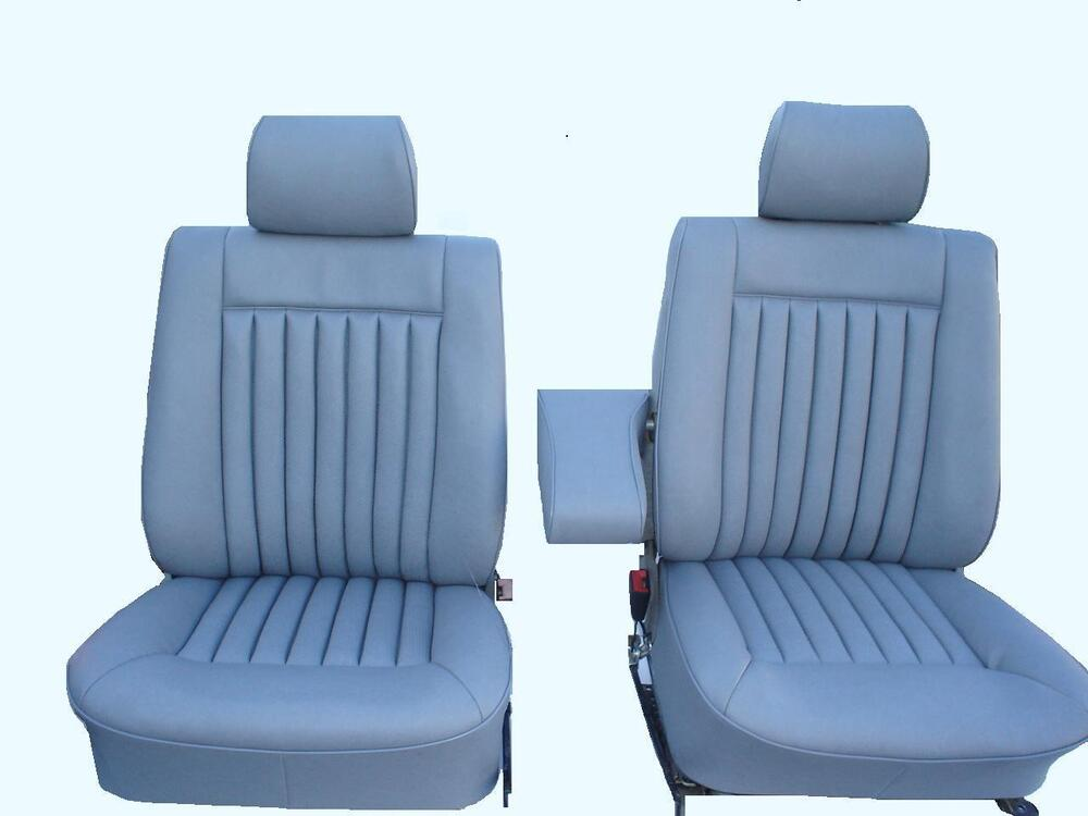 Mercedes Benz W126 Leather Seat Covers 280se 300sel 380sel
