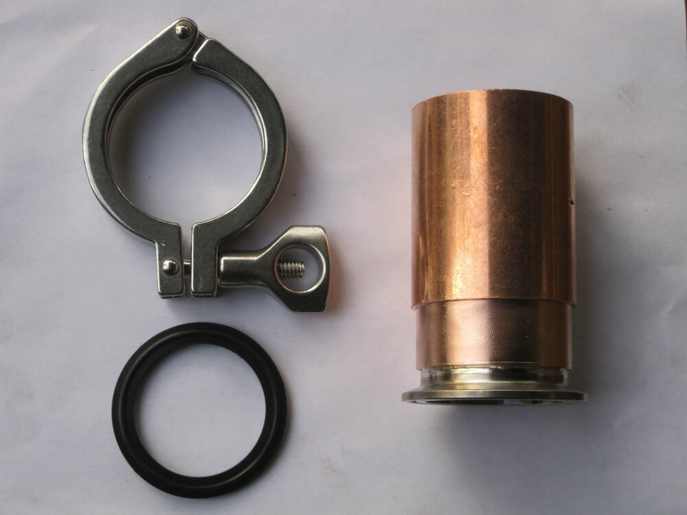 Beer keg kit moonshine still quot copper pipe tri clamp