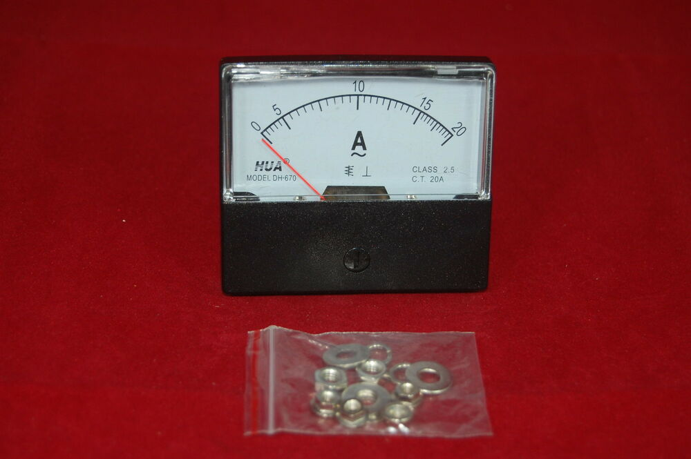 How do you hook up a dc amp meter