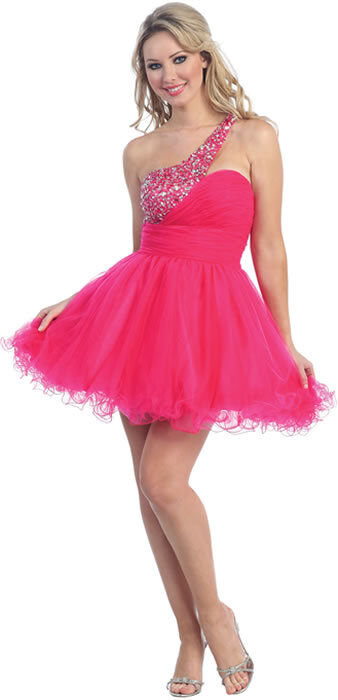 Sexy Short Prom Sweet 16 Party Tutu Hot Dress Sequined ...
