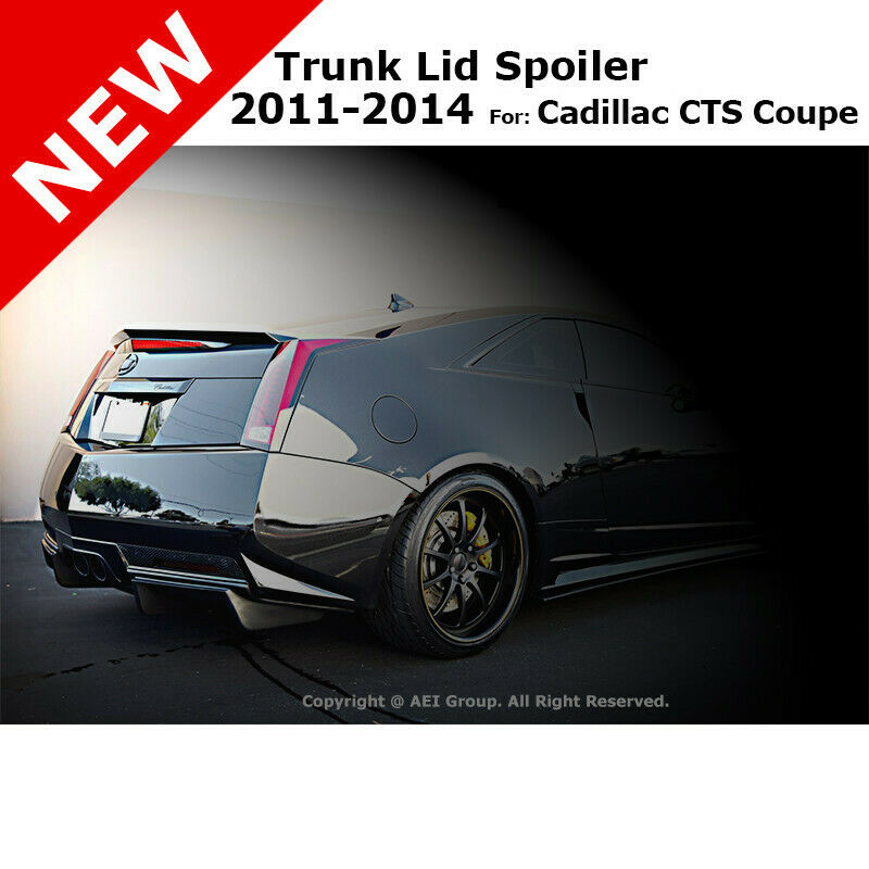 cadillac cts coupe 11 abs trunk rear deck flush lip. Black Bedroom Furniture Sets. Home Design Ideas